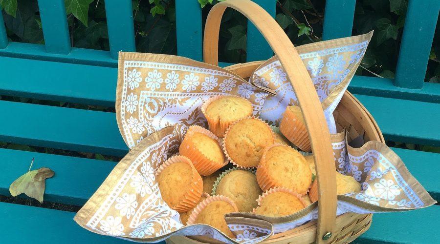 La receta de Octubre: Muffins de Vainilla